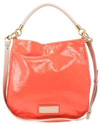Marc By Marc Jacobs - Orange Leather Too Hot To Handle Hobo - Lyst
