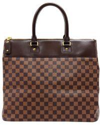 Louis Vuitton - Damier Ebene Canvas Greenwich Pm Bag - Lyst