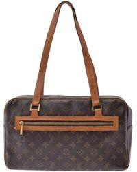ea21dd20e01d Lyst - Louis Vuitton Cite Monogram Shoulder Bag - Vintage in Brown