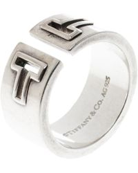 Tiffany & Co. - T Cutout Open Band Ring - Lyst