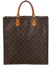 Louis Vuitton - Monogram Canvas Sac Plat Bag - Lyst