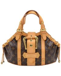 4be7035a6312 Lyst - Louis Vuitton Theda Pm Hand Bag Monogram Canvas Monogram ...