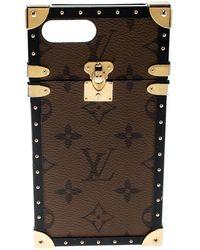 Louis Vuitton Monogram Canvas Eye Trunk Iphone 7+ Case