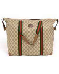 306c7c3953d5 Gucci Preowned Black Monogram Canvas New Ladies Web Large Hobo Bag ...