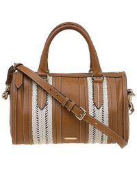 a5293a1633da Burberry - Leather Rope Alchester Bowling Bag - Lyst