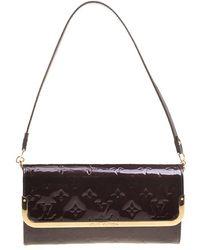 Louis Vuitton - Amarante Monogram Vernis Rossmore Mm Clutch - Lyst