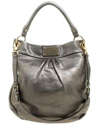 e0448f00d3c Marc By Marc Jacobs Electro Q Hillier Hobo Bag - Cylinder Grey in ...