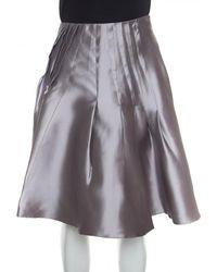Dior - Silk Skirt - Lyst