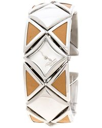 Roberto Cavalli - Stainless Steel Triangle Women's Wristwatch 27 Mm - Lyst