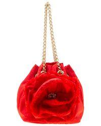Carolina Herrera - Nylon Bucket Shoulder Bag - Lyst