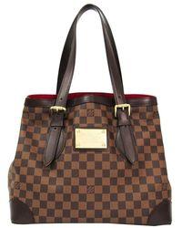 Louis Vuitton - Damier Ebene Canvas Hampstead Mm Bag - Lyst