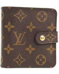 Louis Vuitton - Monogram Canvas French Purse Wallet - Lyst