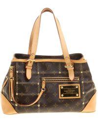fda74aba828f Lyst - Louis Vuitton Speedy 35 Handbag Bag Monogram Canvas M41524 in ...