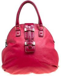 Roberto Cavalli - Leather Dome Satchel - Lyst