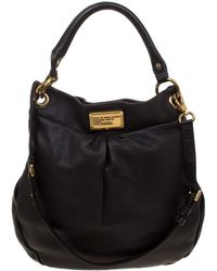 Marc By Marc Jacobs - Dark Brown Leather Classic Q Hillier Hobo - Lyst