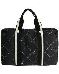Chanel - Nylon Travel Line Briefcase - Lyst