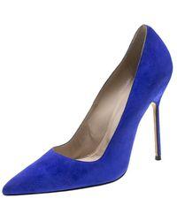 8f05c0660d73 Kate Spade New York Clarice Evening Pump Cobalt Satin in Blue - Lyst