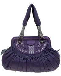 d0b2ecba459 Lyst - Givenchy Eclipse Chain Hobo Purple in Metallic
