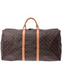 8eb3abdc3 Lyst - Louis Vuitton Vintage Keepall 60 Bandouliere Monogram Canvas ...