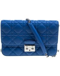 e757ad632927 Dior - City Cannage Leather Miss Promenade Shoulder Bag - Lyst