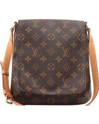 e0f1d5fe6 Louis Vuitton Vintage Monogram Ab Musette Salsa Crossbody Bag in ...