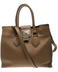Roberto Cavalli - Brown Leather Florence Tote - Lyst