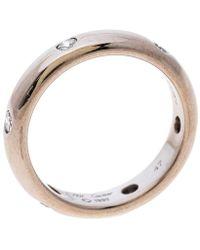 Cartier - Stella Diamond & 18k White Gold Wedding Band Ring - Lyst
