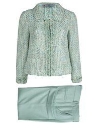 Missoni - Textured Weave Pant Suit M - Lyst