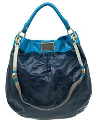 Marc By Marc Jacobs - Bicolor Patent Leather Classic Q Hillier Hobo - Lyst