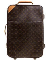 Louis Vuitton Monogram Canvas Pegase Light 55 Luggage - Brown