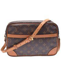 d761b344f63e Louis Vuitton - Monogram Canvas Trocadero 27 Bag - Lyst
