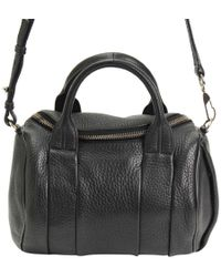 Alexander Wang - Textured Leather Rocco Duffel Bag - Lyst