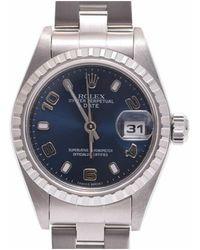 Rolex - Stainless Steel Oyster Perpetual Women's Wristwatch 25mm - Lyst