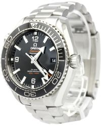 Omega - Stainless Steel Seamaster Planet Ocean Men's Wristwatch 44mm - Lyst