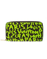 Louis Vuitton - Green Graffiti Stephen Sprouse Limited Edition Zippy Wallet - Lyst
