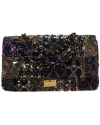 9445d6780004 Chanel - Multicolor Lesage Tweed Jewel Encrusted 2.55 Reissue Classic 227  Flap Bag - Lyst
