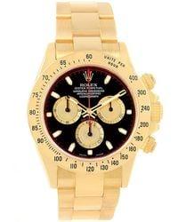 Rolex - 18k Yellow Gold Cosmograph Daytona Men's Wristwatch 40mm - Lyst
