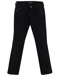 Isabel Marant - Denim Geometric Paneled Stanford Jeans S - Lyst