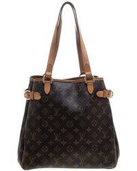 Louis Vuitton - Monogram Canvas Batignolles Vertical Bag - Lyst