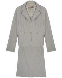 Max Mara - Laine Skirt Suit M - Lyst