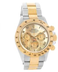 Rolex - Mother Of Pearl 18k Yellow And Stainless Steel Cosmograph Daytona Men's Wristwatch 40mm - Lyst