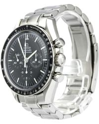 Omega - Stainless Steel Speedmaster Professional Moonwatch Men's Wristwatch 42mm - Lyst