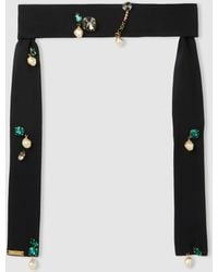 Marni - Embellished Silk Necklace - Lyst