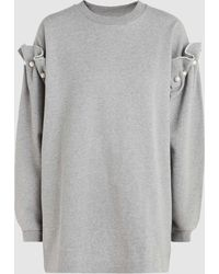 Mother Of Pearl - Darby Embellished Cotton-jersey Sweatshirt - Lyst