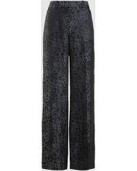 Equipment Arwen Printed Trousers - Black