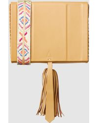 Zeus+Dione - Attiki Large Bag With Macedonia Embroidered Strap - Lyst