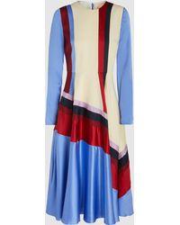 ROKSANDA - Paneled Dress - Lyst
