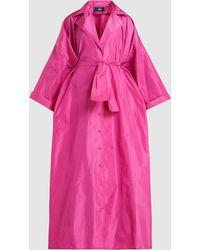 Taller Marmo - La Camisa Tafetta Robe Dress - Lyst
