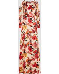 Mother Of Pearl Zula Floral Silk Maxi Dress