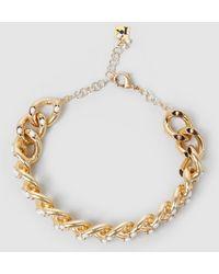 Rosantica - Ingranaggio Pearl-embellished Gold-tone Choker - Lyst